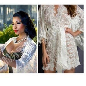Agent Provocateur Intimates & Sleepwear - BNWT Agent Provocateur Off-white Matinee Kimono